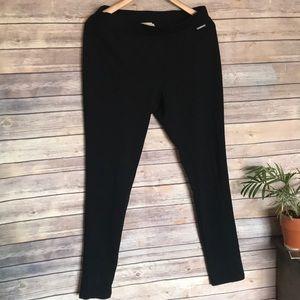 Michael Kors | black medium straight leggings